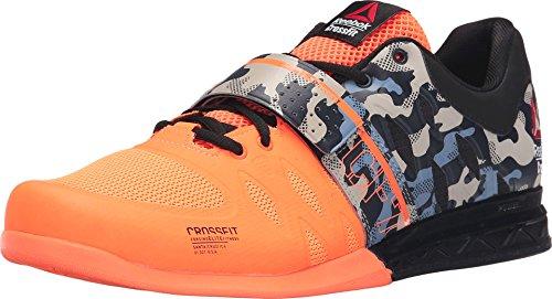 Reebok Crossfit Lifter 2.0 - Zapatillas de Entrenamiento para Hombre, Negro (Negro), 42 EU