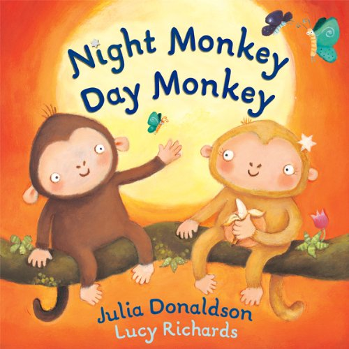 Night Monkey, Day Monkey audiobook cover art