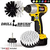 Drillbrush 3 Piece Drill Brush Cleaning Tool Attachment Kit for Scrubbing/Cleaning Furniture,...