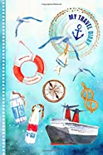 My Travel Diary: Cruise Journal For Kids - Guided Journey Log Book 6x9 - Record Tracker Book For Writing Sketching Gratitude Prompt - Vacation ... Journal. Girls Boys Traveling Notebook