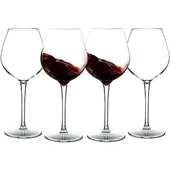 MICHLEY Unzerbrechlich Tritan-Kunststoff weingläser, rotwein trinkglas, gläser fur Camping Party, BPA-frei 500 ml plastik Tasse