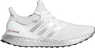 adidas Ultraboost DNA White/Silver Metallic/Solar Red