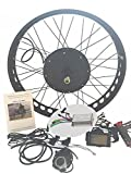 48V1500W Hub Motor Electric Bike Conversion Kit 4.0 Fat Rim + LCD Theebikemotor