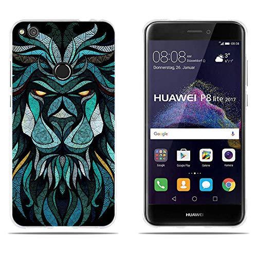 "DIKAS para Huawei P8 Lite 2017/ Honor 8 Lite/ P9 Lite 2017, 3D Flexible a Los en Parte Trasera, para Huawei P8 Lite 2017/ Honor 8 Lite/ P9 Lite 2017 (5.2"")- Pic: 05"