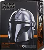 Collector Star Wars Black Series - Mandalorian Electronic Helmet. Commemorate Star Wars with The Mandalorian Premium Black Series Electronic Helmet!