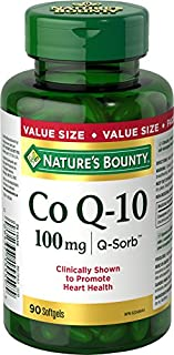 Nature's Bounty Co Q10 Pills, Promotes Heart Health, 100mg, 90 Softgels (B00BMEHKJ2) | Amazon price tracker / tracking, Amazon price history charts, Amazon price watches, Amazon price drop alerts