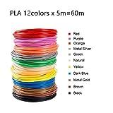 PLA Filament für 3D-Drucker Hochpräzise 1,75 mm Verschiedene Farben