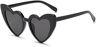 f6a51fcd8f9 Love Heart Shaped Sunglasses Women Vintage Cat Eye Mod Style Retro Glasses
