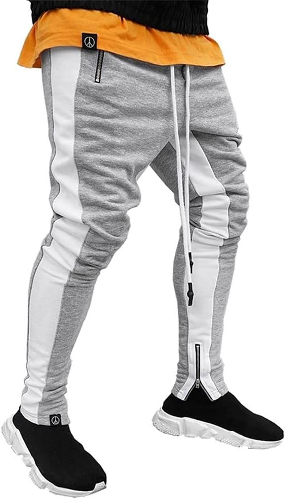 DIAOD Jogging San Antonio Mall Pants Men Free shipping / New Running Fitness Zipper with Sports