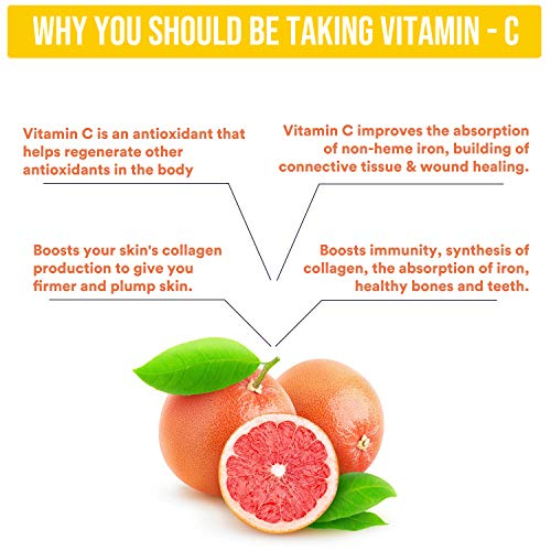 MOUNTAINOR Vitamin C Complex Immunity Booster Capsules 1000mg