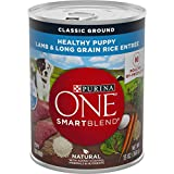 Purina ONE Natural Pate Wet Puppy Food, SmartBlend Healthy...