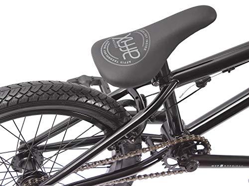 KHE BMX Fahrrad Arsenic CS 18 Zoll schwarz Affix 360° Rotor nur 10,1kg - 3