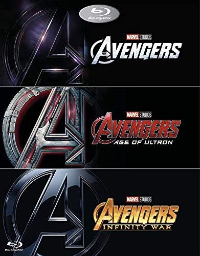 Avengers 1-2-3 trilogy box set [blu-ray]
