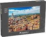 Puzzle 1000 Teile Landschaft von Siena - Klassische Puzzle, 1000/200/2000 Teile, in edler Motiv-Schachtel, Fotopuzzle-Kollektion 'Italien'
