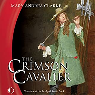 The Crimson Cavalier audiobook cover art
