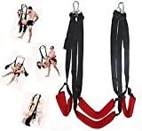 Couple Toys 360 Spinning Indoor S&êx Swing Set for Aadült Gāme with Steel Triangle Frame and Spring Fits Couples Pleasure(Red)