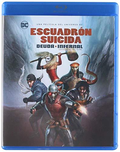 ESCUADRON SUICIDA DEUDA INFERNAL [Blu-ray]