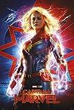 Erik Poster Capitaine Marvel, Multicolore, 61x91, 5cm