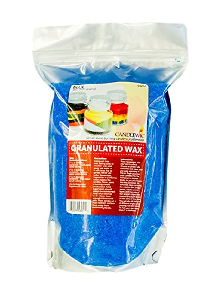 Candlewic Vibrant Granulated Wax Art for Custom Candle Crafts, 2 lb, Blue