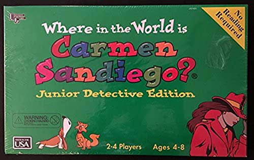 Where in the World Is Carmen San Diego unior Detective Edition