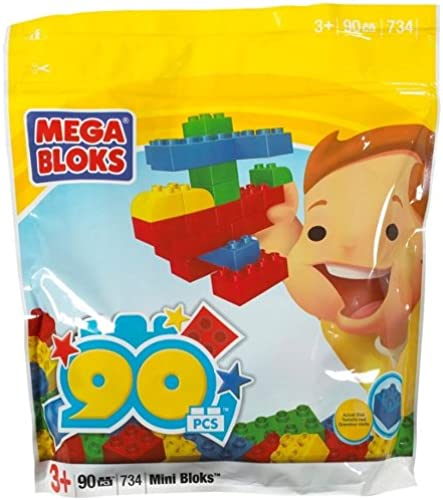 Mega Bloks Mini 90 Piece Value Bag
