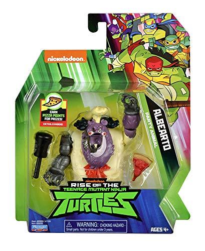 Teenage Mutant Ninja Turtles tuab0200/Mikey Fingerring der Ninja K/ünstler der Rise of Basic Action Figur