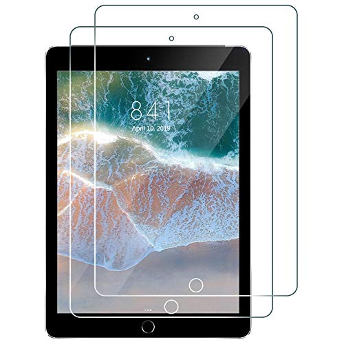 iPad Air 2 Screen Protector, [2 Pack] Premium Tempered Glass For iPad...