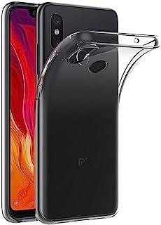 MaiJin 対応シャオミ Xiaomi Mi 8 (6.21インチ) 透明 耐衝撃 スマホケース TPU クリア ソフト 背面保護カバー