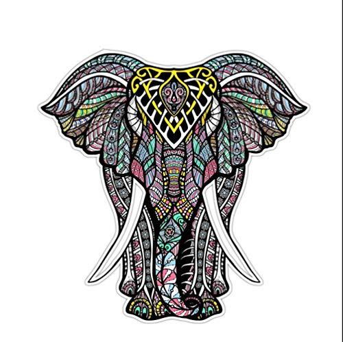WYJW Sticker voor gitaar, skateboarden, bagage, grote cartoon olifant