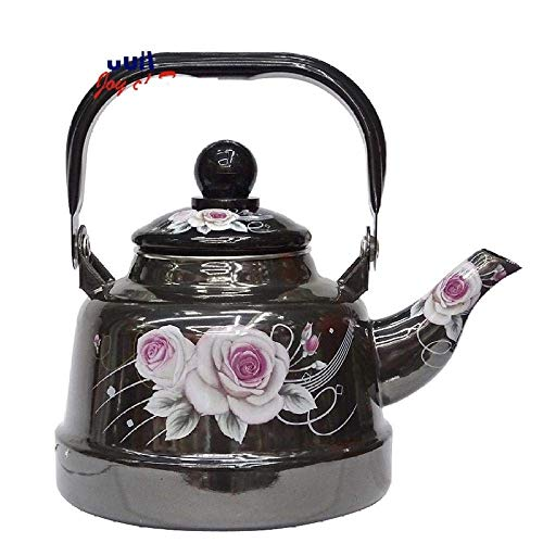 Stovetop Kettles Enamel Ceramic Teapot Middle East Hip Flask Insulation Coffee Pot Thermos for Bulk Tea