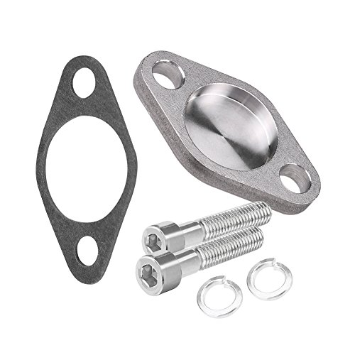 Keenso Auto AGR-Ventildichtung, 8 mm Auto AGR-Ventil Blindblock Ersatz mit Dichtung SI-A0254 für E53 E65 E66 E38 E39 E46 E90