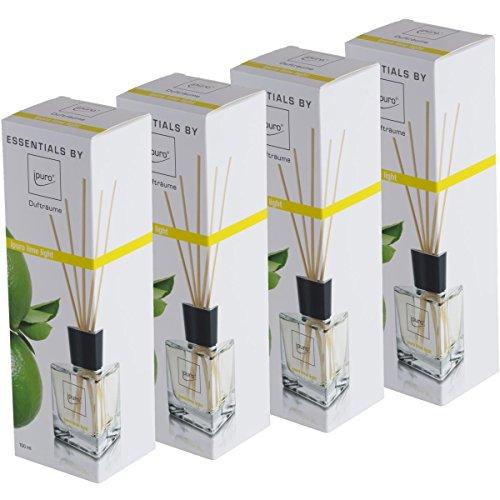Essentials by ipuro Lime Light 100ml Raumduft (4er Pack)