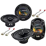 Compatible with Toyota Corolla 2003-2008 Factory Speaker Upgrade Harmony R65 R69 Package New