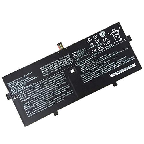 Fully New L15M4P23 Replacement Laptop Notebook Battery Compatible with Lenovo Yoga 910 Yoga 5 Pro Series L15C4P21 L15C4P22 L15M4P23-7.6V Capacity: 78Wh/10160mAh