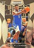 First ZION WILLIAMSON Prizm Rookie Card - 2019 Panini Prizm Draft Picks Basketball Card - Blue Jersey Edition - Authentic Panini Basketball Card