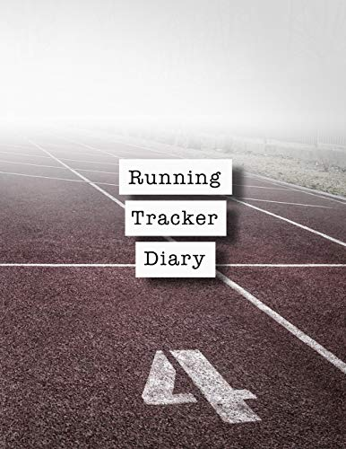 Running tracker diary: Runner planner diary for all your training logs - Track race