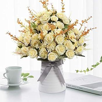 Wankai Flower Decoration Artificial Flowers with Ceramic Vase