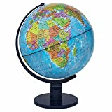 "Waypoint Geographic World Globe for Kids - Scout 12"" Desk Classroom Decorative Globe with Stand, More Than 4000 Names, Places - Current World Globe"