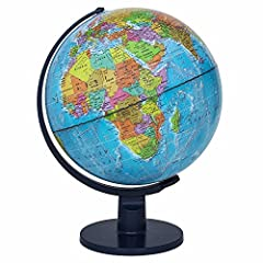 A must have - beautiful, colorful world Globe makes a wonderful addition to your home, classroom and playroom decor. Help your kids understand the ideas of the world, continents, countries and cities with a well designed, interactive Globe. Education...