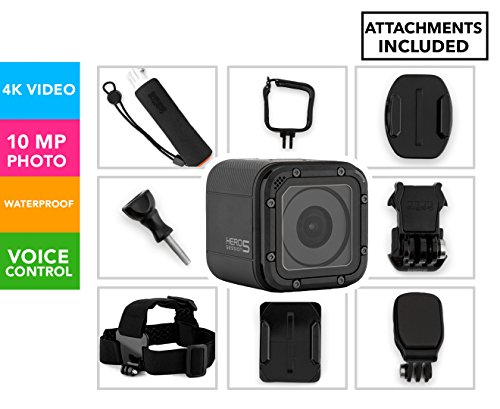 GoPro HERO5 Session Action Camera Bundle with...
