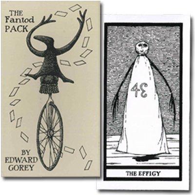 エドワード・ゴーリー 不安な箱 20枚組の占いカード