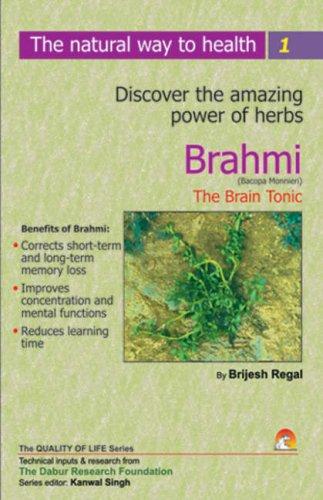 Brahmi, the Brain Tonic