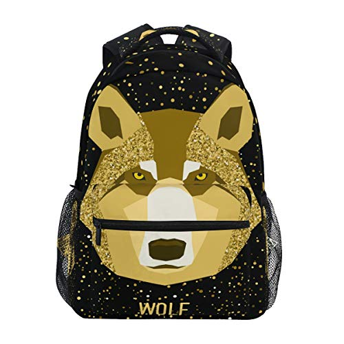 Wolf Animal Backpack School Bookbag for Boys Girls Elementary School 2022172