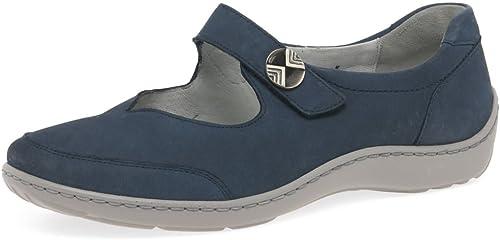 WALDLAUFER Mary Jane Chaussures Sucre 37 EU bleu Jeans Nubuck