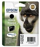 Epson Cartucho de tinta negra (Epson original: C13T08914010 / T0891) para la impresora Stylus SX 405 WiFi