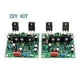 2PCS MX50 SE 100WX2 デュアルチャンネルオーディオパワー アンプボード Diy Kit 新バージョン