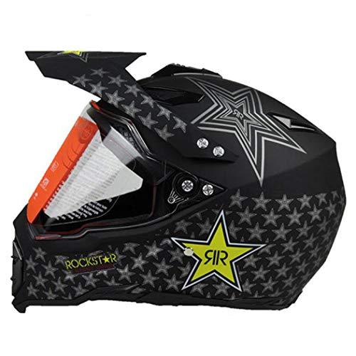 OLEEKA Casco de motocicleta Casco profesional MotoCross MTB DH Racing Motocross Downhill Bike Cascos