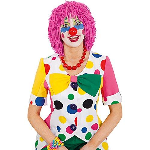Payaso de la peluca payaso de la peluca de la peluca de payasos de lana de pelo peluca de pelo madera disfraces de carnaval de disfraces de carnaval de accesorios de lana