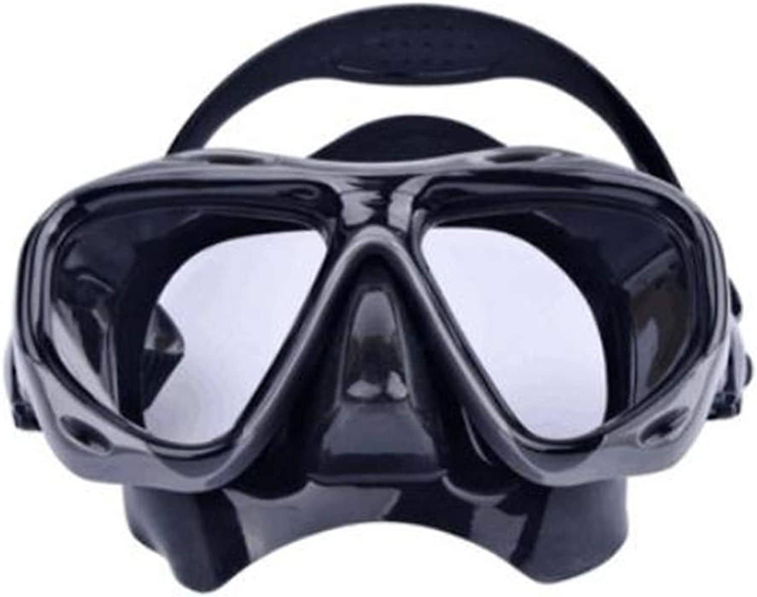 WERF Adult Diving Mask, Soft Silicone Perfectly Fits The Face, for Swimming, Diving