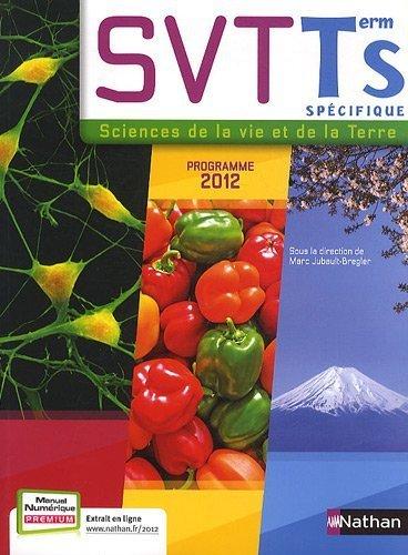 SVT Tle S : Programme 2012 de Jubault-Bregler. Marc (2012) Broché